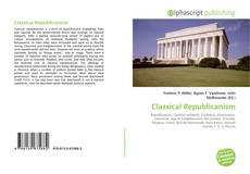 Capa do livro de Classical Republicanism