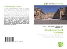 Bookcover of First Employment Contract