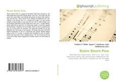 Borítókép a  Boom Boom Pow - hoz