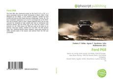 Ford P68的封面
