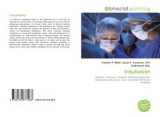 Couverture de Intubation
