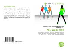 Обложка Miss World 2009