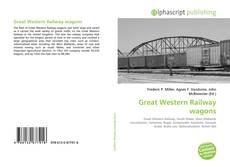 Обложка Great Western Railway wagons
