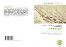 Bookcover of British English