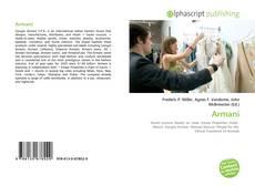 Capa do livro de Armani