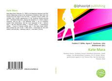 Bookcover of Kate Mara