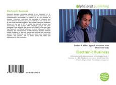 Bookcover of Electronic Business