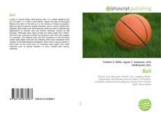 Copertina di Ball