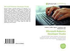 Bookcover of Microsoft Robotics Developer Studio