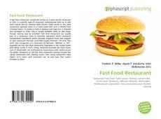Fast Food Restaurant kitap kapağı