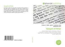 Bookcover of Gospel of Peter