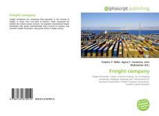 Freight company kitap kapağı