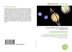 Capa do livro de Cold Dark Matter