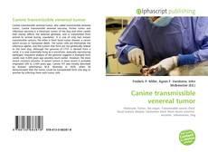 Canine transmissible venereal tumor的封面