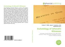Bookcover of Eschatology of Jehovah's Witnesses
