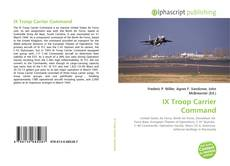 IX Troop Carrier Command kitap kapağı