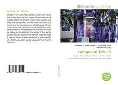 Bookcover of Isotopes of helium