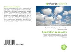 Bookcover of Exploration geophysics