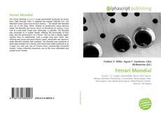 Ferrari Mondial的封面
