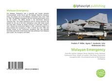 Buchcover von Malayan Emergency
