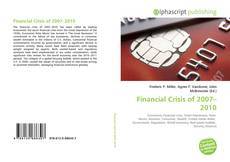 Bookcover of Financial Crisis of 2007–2010