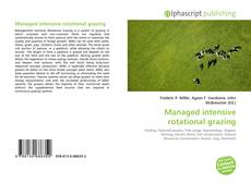 Portada del libro de Managed intensive rotational grazing