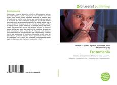 Capa do livro de Erotomania