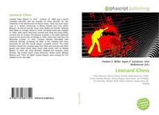 Borítókép a  Leonard Chess - hoz