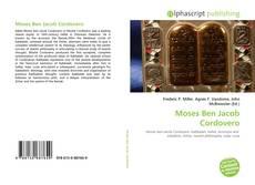 Bookcover of Moses Ben Jacob Cordovero
