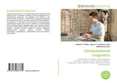 Bookcover of Computational Linguistics