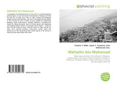 Capa do livro de Mahathir bin Mohamad