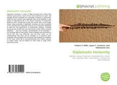 Bookcover of Diplomatic Immunity