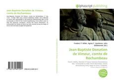 Buchcover von Jean-Baptiste Donatien de Vimeur, comte de Rochambeau