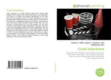 Bookcover of Cruel Intentions