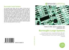 Bookcover of Burroughs Large Systems
