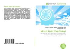 Bookcover of Mixed State (Psychiatry)
