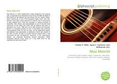 Bookcover of Max Merritt
