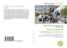 Buchcover von Birla Institute of Technology and Science