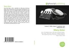 Bookcover of Mary Astor