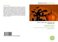 Bookcover of Ghost story