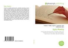 Buchcover von Epic Poetry