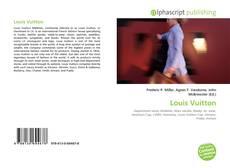 Buchcover von Louis Vuitton
