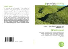 Bookcover of Etheric plane