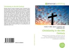 Couverture de Christianity in the 8th Century