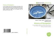 Buchcover von History of Navigation