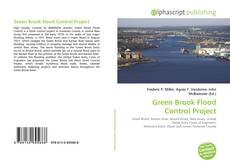 Bookcover of Green Brook Flood Control Project