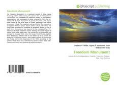 Обложка Freedom Monument