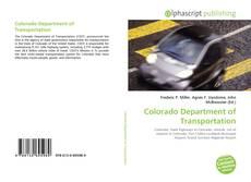 Colorado Department of Transportation kitap kapağı