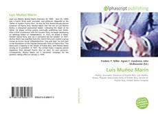 Bookcover of Luis Muñoz Marín