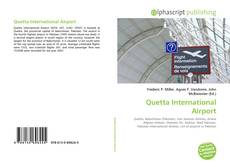 Buchcover von Quetta International Airport